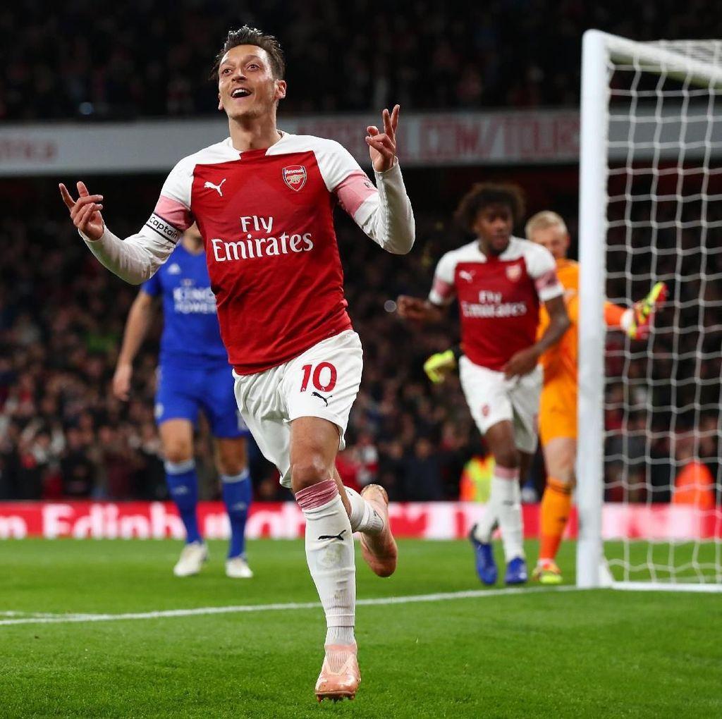 Arsenal Hadapi Qarabaq, Oezil dan Koscielny Comeback