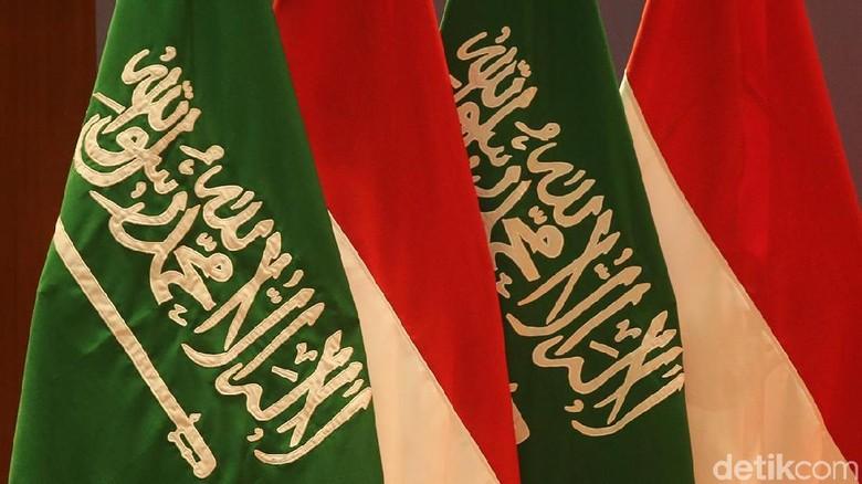 Bendera Indonesia Arab Saudi
