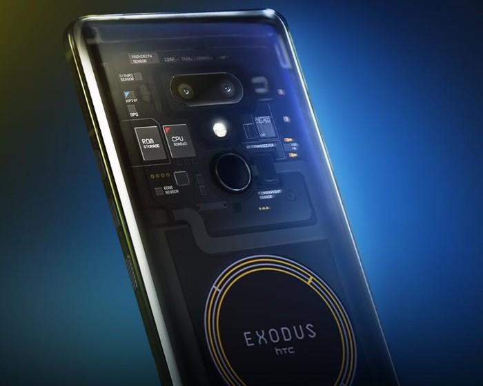 HTC Exodus. Foto: HTC