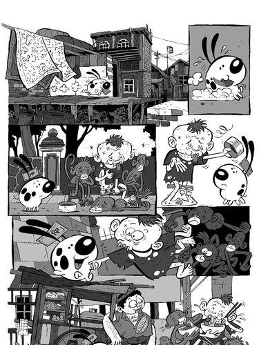 Cerita Emte Ciptakan Komik dari Karakter 'Gugug'