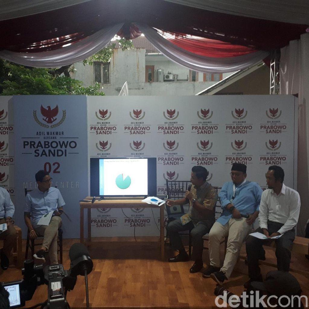 Dana Awal Kampanye Prabowo-Sandi Rp 31,7 M, Sudah Terpakai Rp 16,9 M