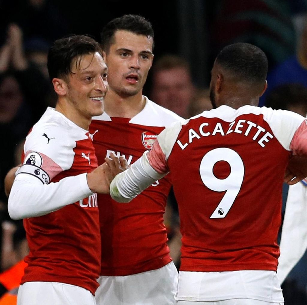 On Fire, Beranikah Arsenal Incar Trofi Juara Liga?