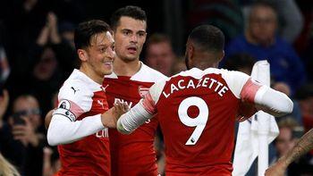 Arsenal Lanjutkan Rentetan Kemenangan