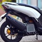 Modifikasi Sokbreker Belakang Lexi Jadi Mirip Motor Sport