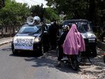 Ada Aksi Bela Kalimat Tauhid, Kantor PCNU Solo Dijaga Pagar Nusa
