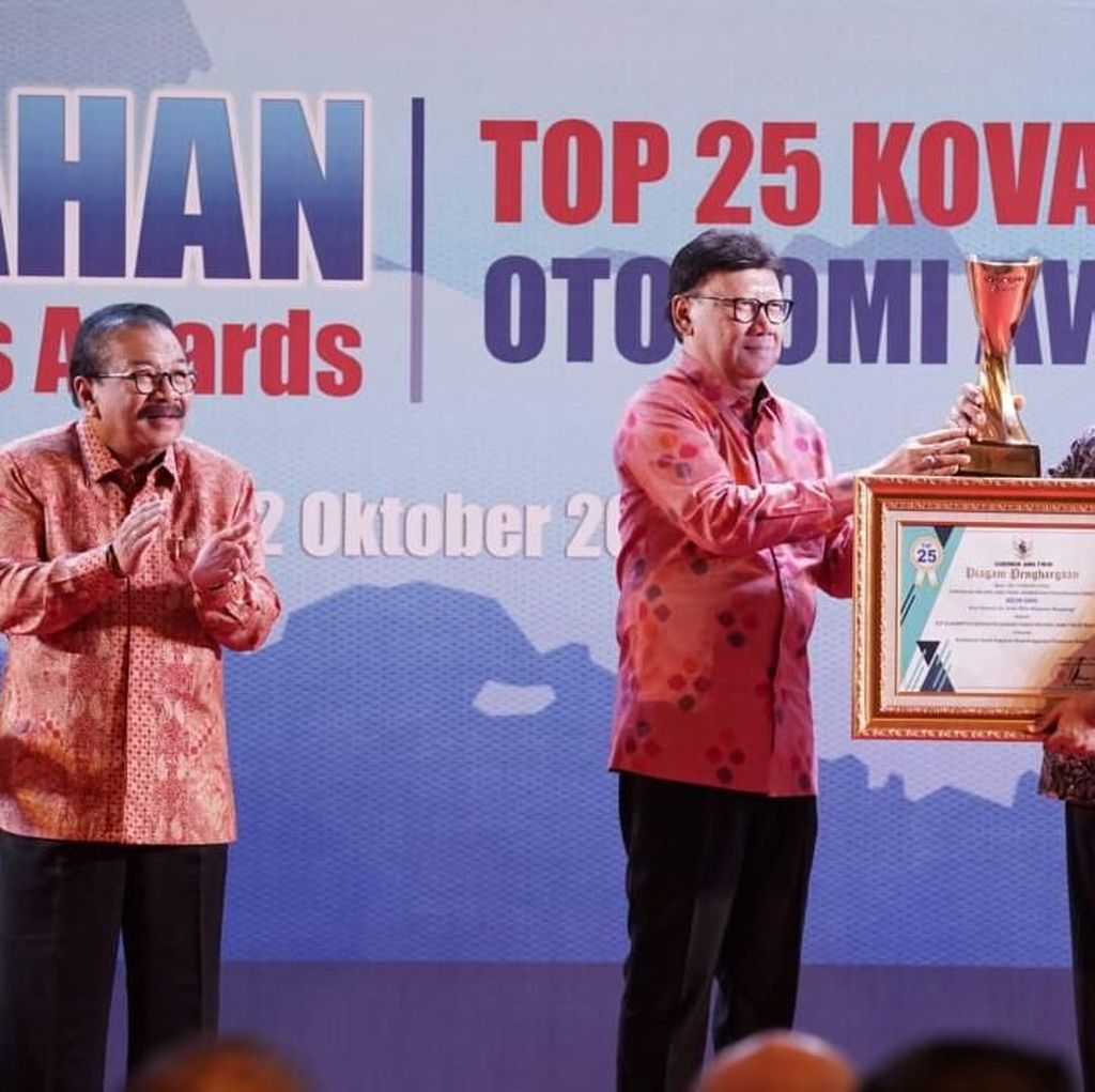 Banyuwangi Diganjar Dua Penghargaan dalam Kovablik Otonomi Awards