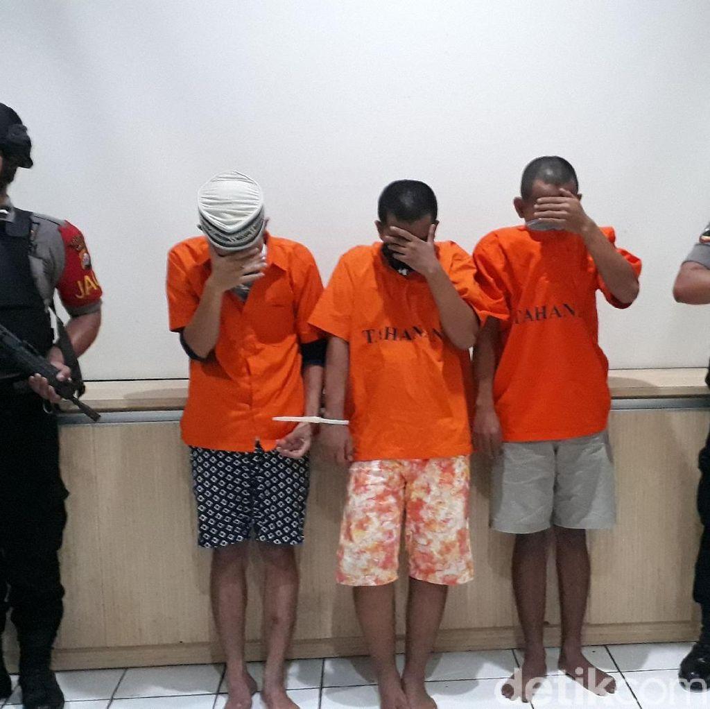 Polisi Bekuk Pengedar Sabu dan Gorilla di Cilegon