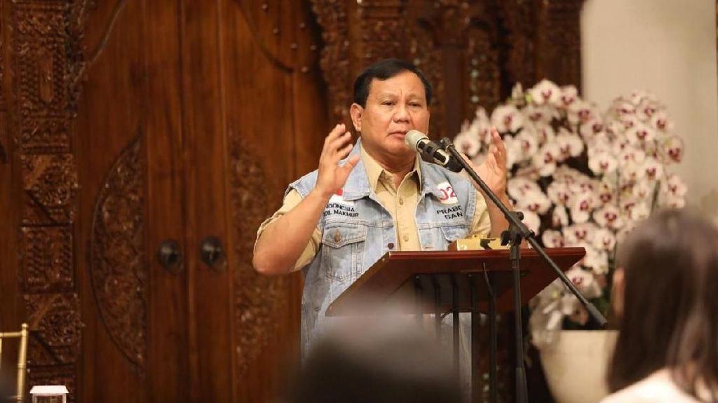 Prabowo Sebut 99% Rakyat Hidup Pas-Pasan, Ini Faktanya