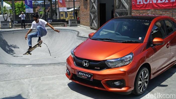Honda menggelar test drive Honda Brio di Bali