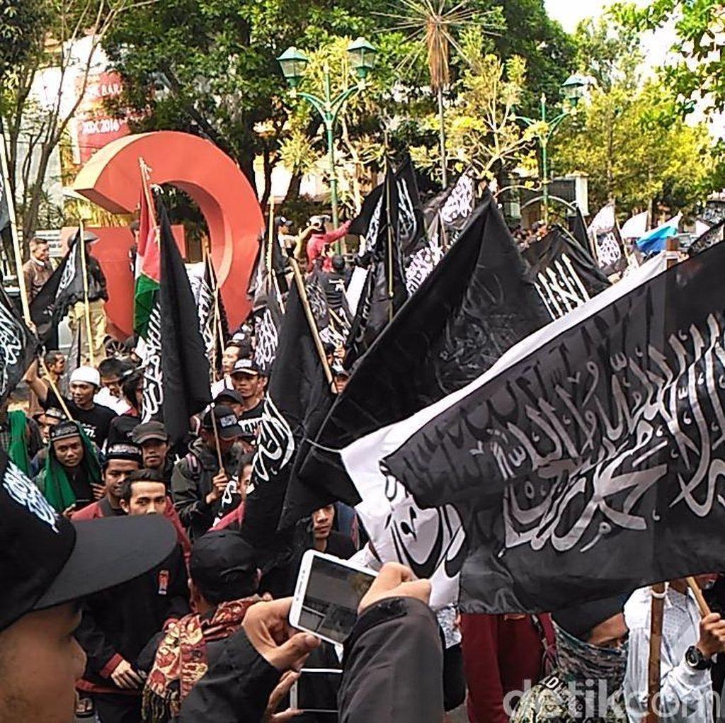 Bendera Tauhid Dibakar, MUI dan Pangdam Imbau Umat Tak Terprovokasi