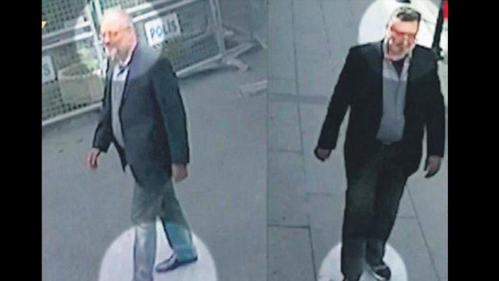 Penyamaran Agen Saudi sebagai Khashoggi Terbongkar karena Sepatu