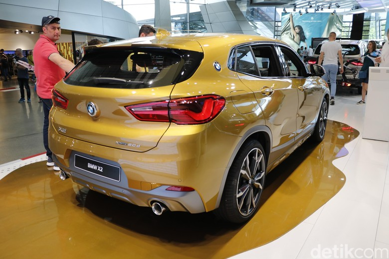 BMW X2. Foto: Dadan Kuswaraharja