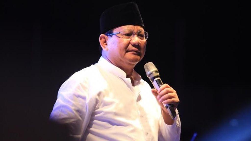 Prabowo Sebut Ekonomi RI Seperti Tubuh Manusia