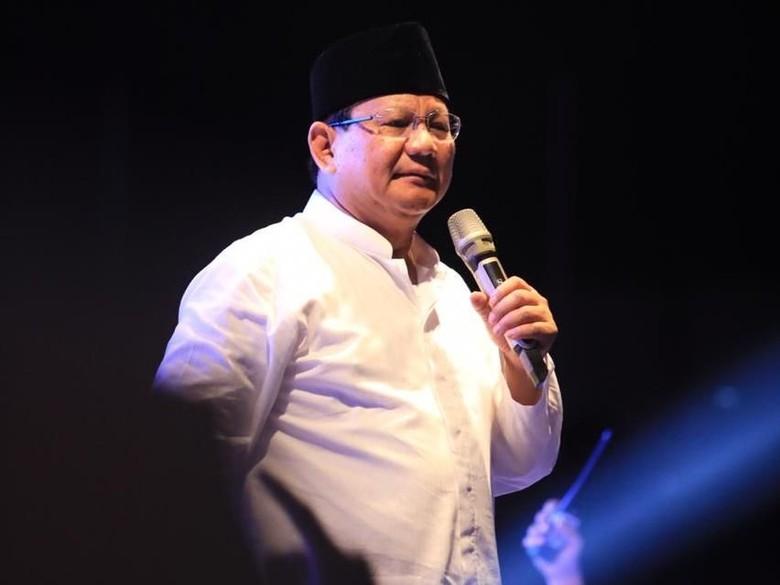 Prabowo: RS di Semarang Bilang Nombok Rp 110 M, Belum Dibayar BPJS