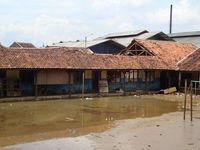 SMA PGRI Garut sebelum mendapatkan bantuan renovasi