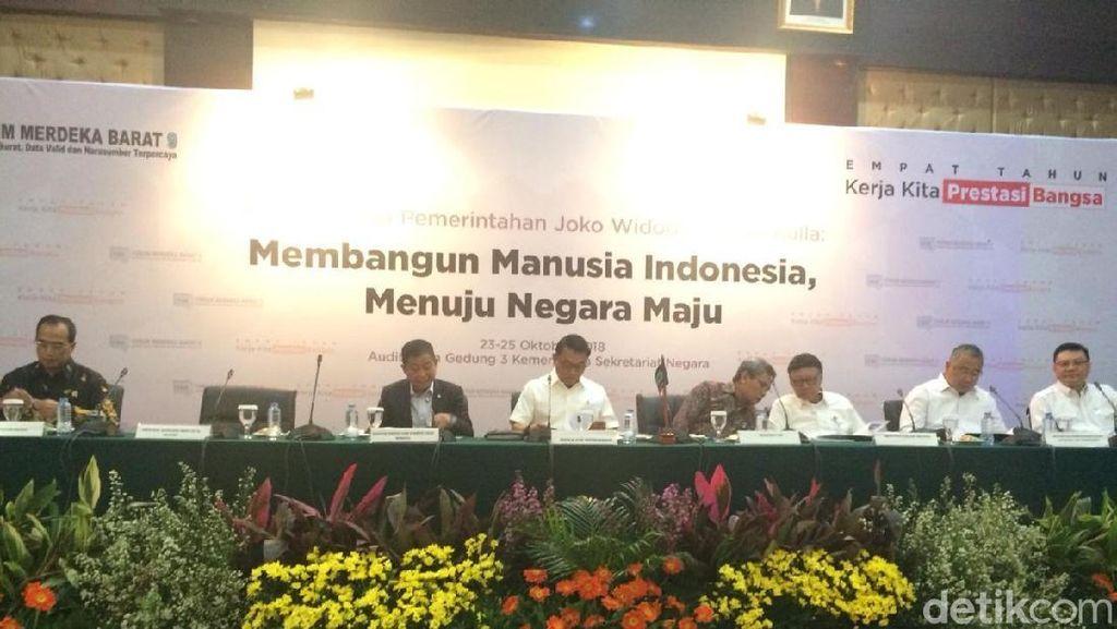 Jonan hingga Luhut Buka-bukaan Capaian 4 Tahun Jokowi-JK