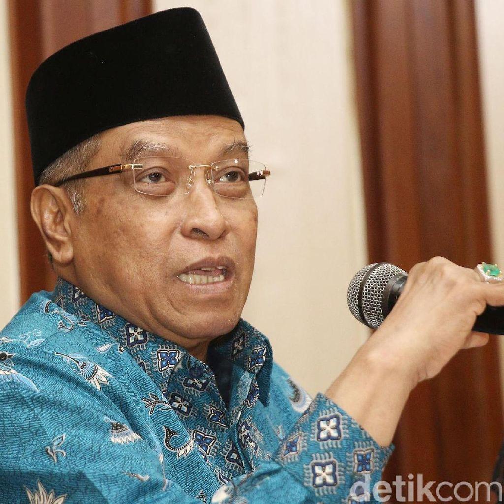 Said Aqil soal Rekomendasi Jangan Sebut Kafir ke Non-muslim: Untuk Orang NU