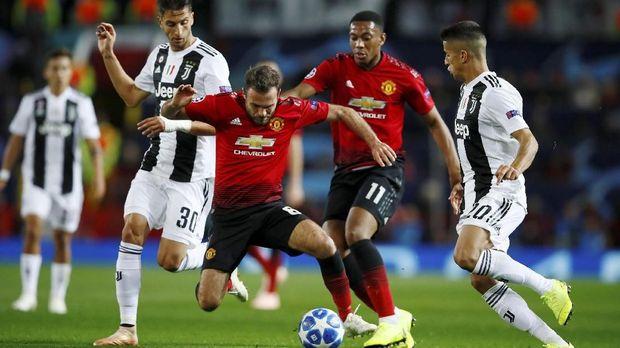 Man United bisa kejutkan Juventus.