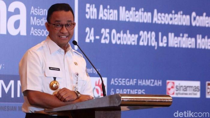 Foto: Gubernur DKI Jakarta Anies Baswedan. (Agung Pambudhy-detikcom)