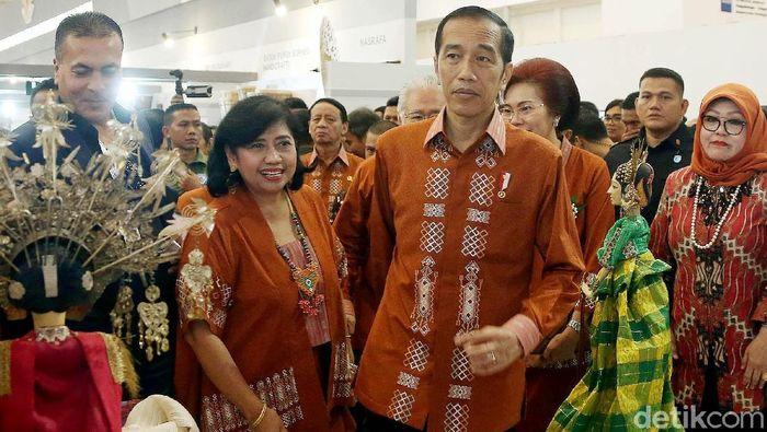 Presiden RI Joko Widodo di Trade Expo Indonesia ke-33/Foto: Rengga Sancaya