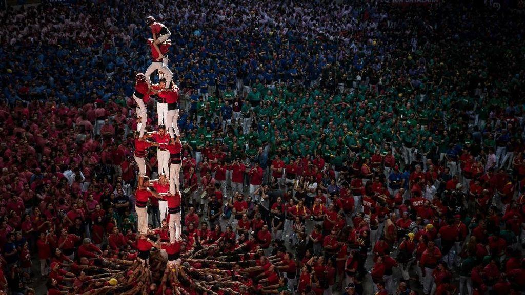 Kompetisi Menara Manusia yang Epik dari Catalonia