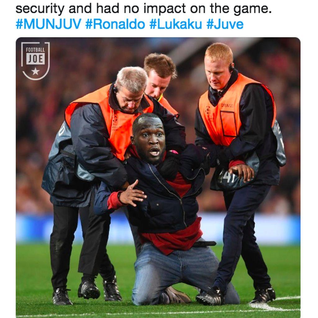 Meme Kejam Buat MU dan Lukaku Usai Ditekuk Juventus