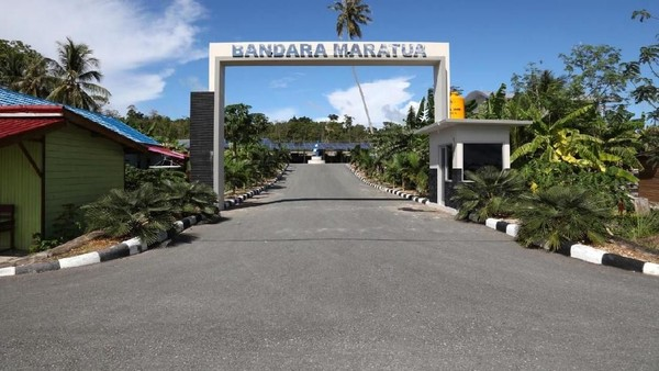 Inilah Bandara Maratua yang baru diresmikan. Bandara ini berada di Pulau Maratua Kabupaten Berau (Istimewa/Ditjen Perhubungan Udara Kemenhub)