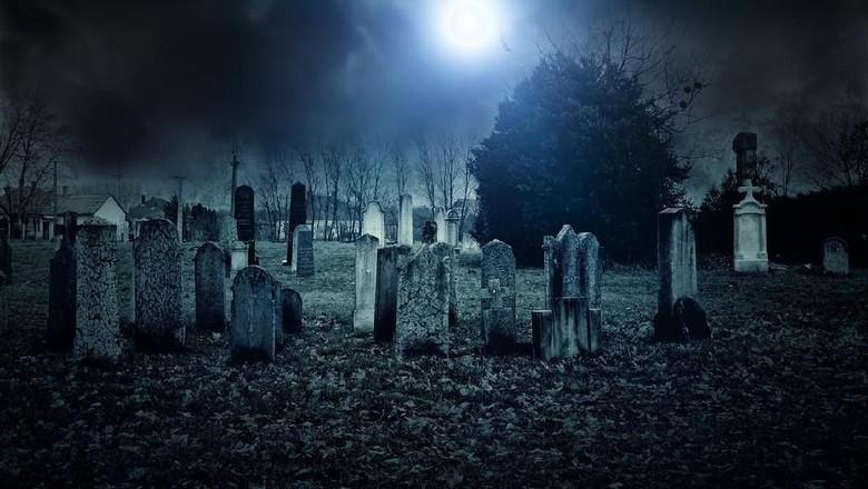 Ilustrasi kuburan (iStock)