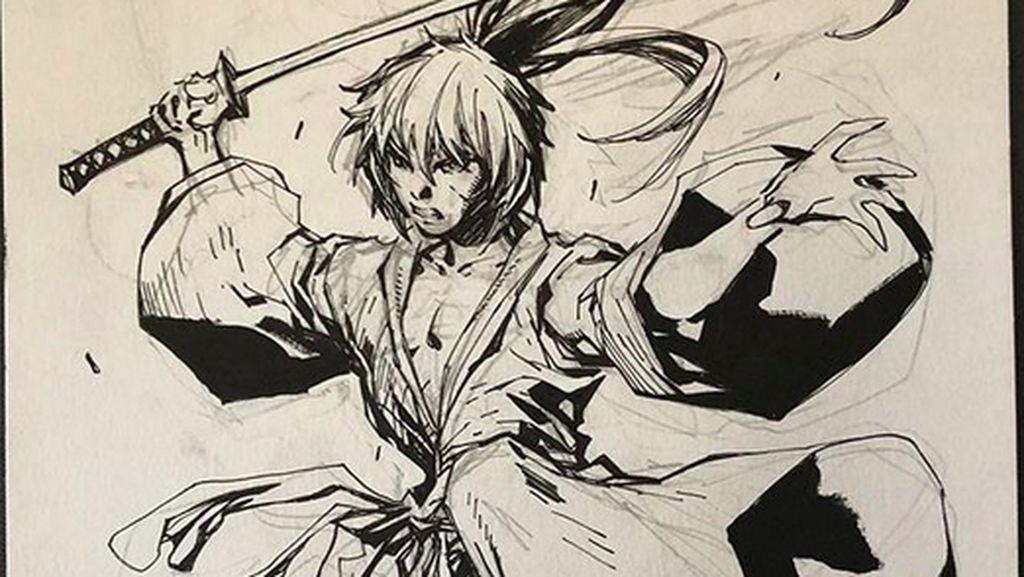 Komikus DC Berikan Tribut pada Manga Samurai X