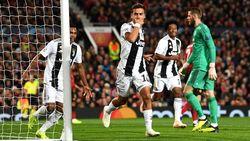 Babak I, Dybala Bawa Juventus Ungguli MU 1-0