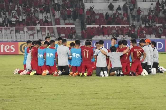 Bersyukur atas kemenangan Timnas Indonesia. Foto: AFC