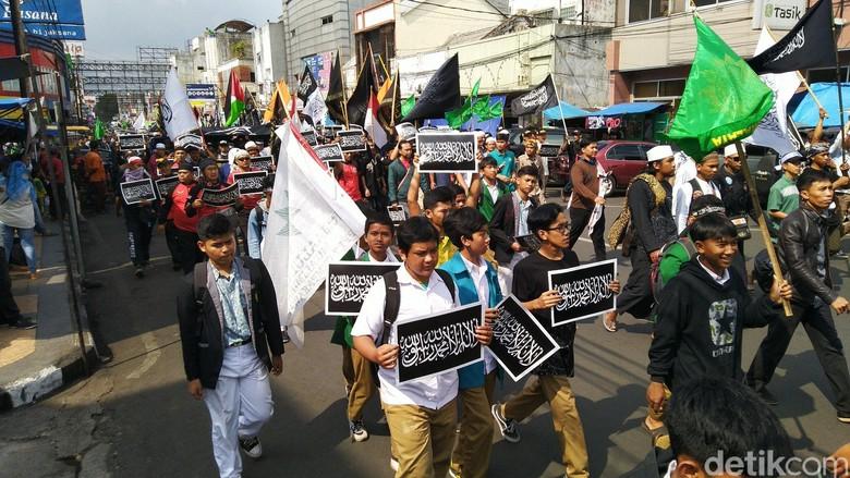 Aksi Bela Tauhid, Umat Islam Tasikmalaya Turun ke Jalan