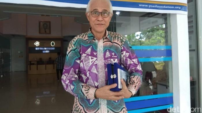 Sang anak meninggal karena kanker membuat Prof Mantik mendirikan Yayasan Kanker di Manado. (Foto: Aisyah Kamaliah/detikHealth)