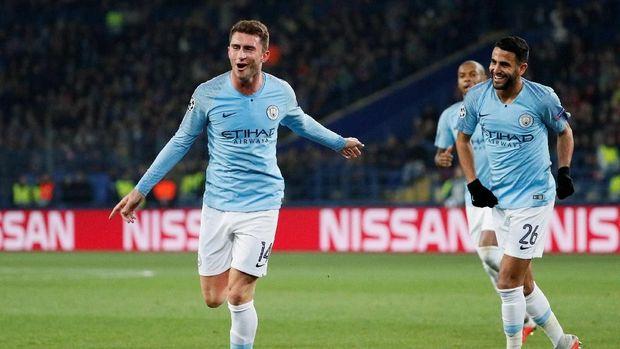 Manchester City mengalahkan tuan rumah Shakhtar Donetsk dengan skor 3-0. (