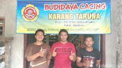 Geli-geli Seru, Budidaya Cacing Pemuda Karang Taruna di Surabaya