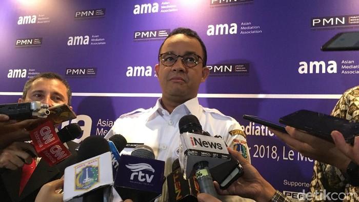 Gubernur DKI Jakarta Anies Baswedan (Foto: Indra Komara/detikcom)