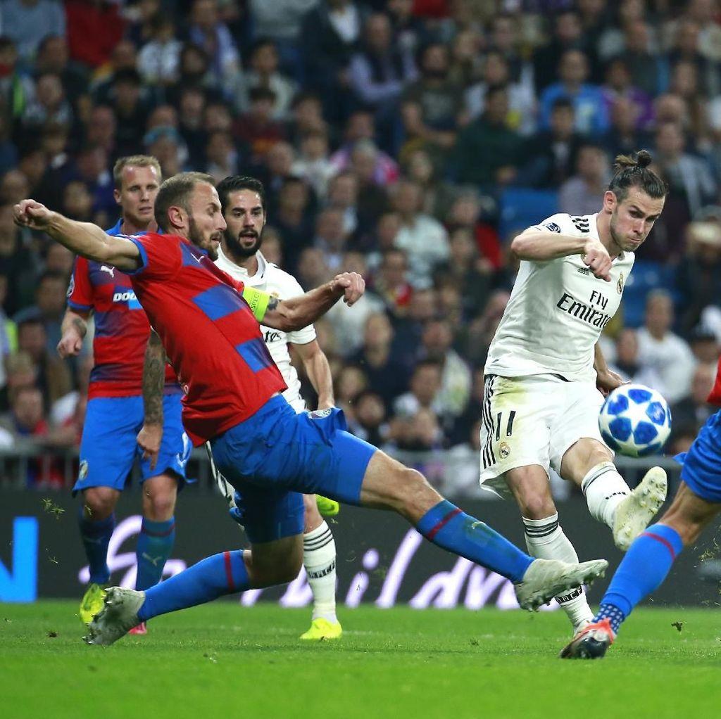 Hasil Liga Champions: Real Madrid Tekuk Viktoria Plzen 2-1