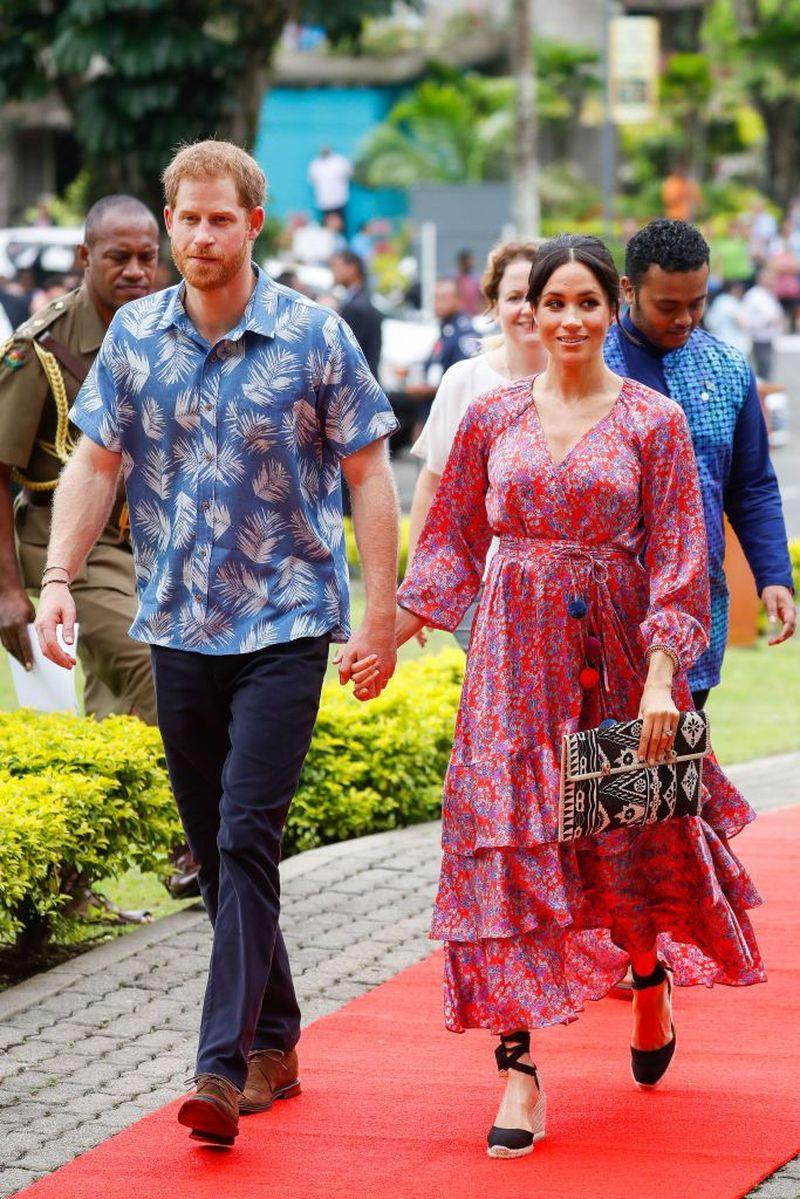 Pangeran Harry dan Meghan Markle bertolak ke Fiji, sebuah negara di Oseania dengan pemandangan laut yang cantik (Ian Vogler/Getty Images)