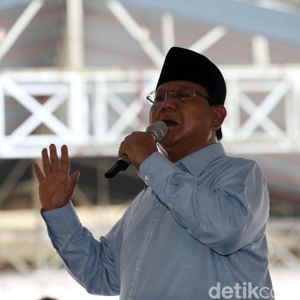 Prabowo: Air dari Tanjung Priok akan Sampai HI di 2025