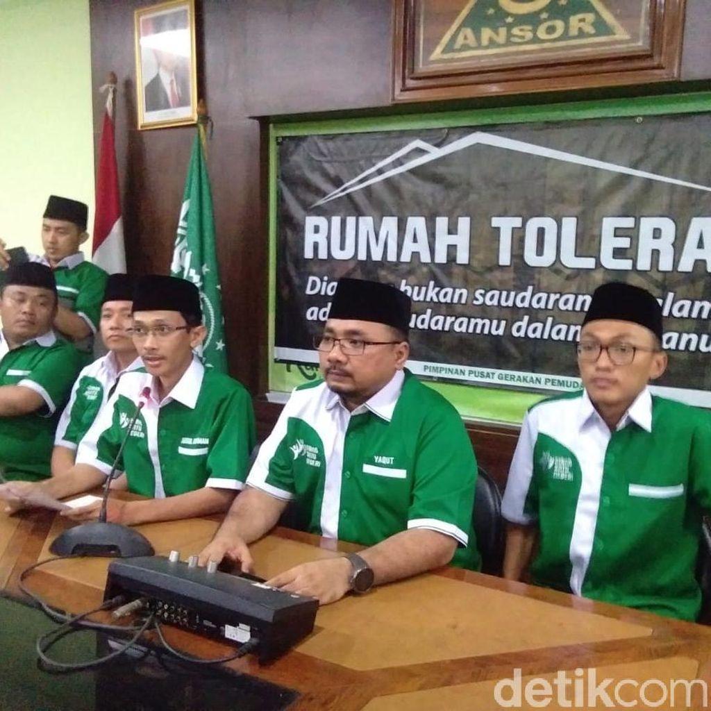 Ansor: Kami Minta Maaf atas Kegaduhan, Bukan Pembakaran Bendera HTI