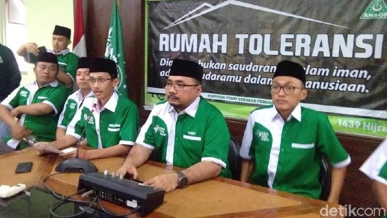 Pernyataan Lengkap GP Ansor soal Pembakaran Bendera HTI