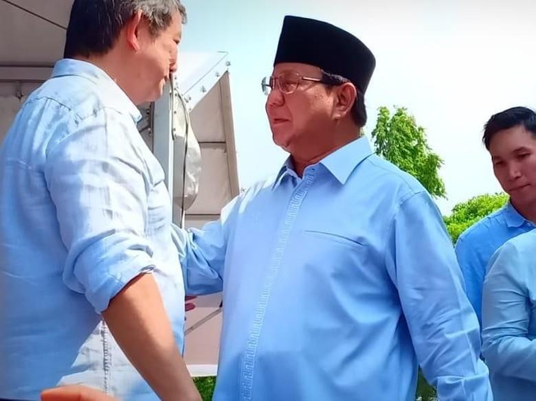 Lebaran Hari Pertama, Prabowo Hadiri Ultah Hashim Djojohadikusumo di Bali