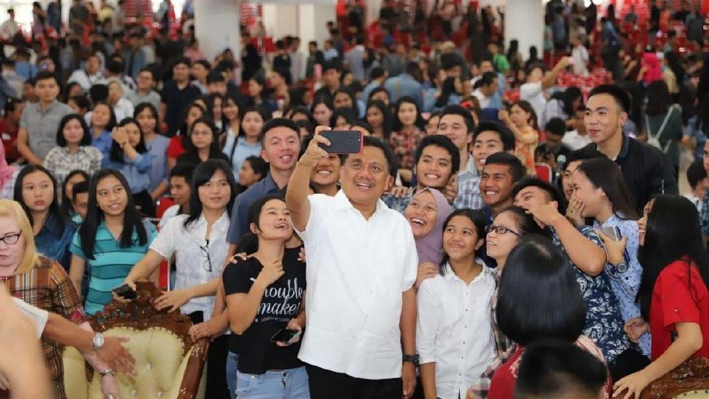 Di Depan 3.000 Mahasiswa, Gubernur Sulut Kenalkan Nilai Pancasila