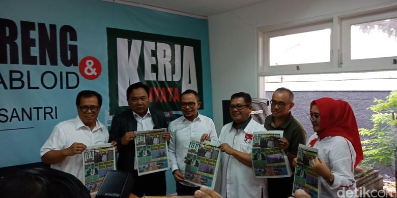 Dihadiri Menaker, Seknas Jokowi Luncurkan Tabloid Kerja Nyata