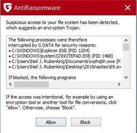 Gb 4. Banyak antivirus menyediakan fitur tambahan untuk melindungi dari ransomware