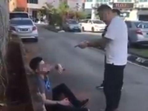 Ayah pukuli menantu sebagai pembalasan karena telah menyakiti anaknya