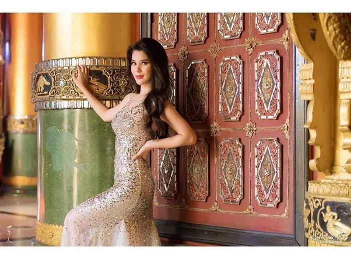 Miss Philippines Grand International 2018 Eva Psychee Patalinjug. Foto: Dok. Instagram @evapatalinjug