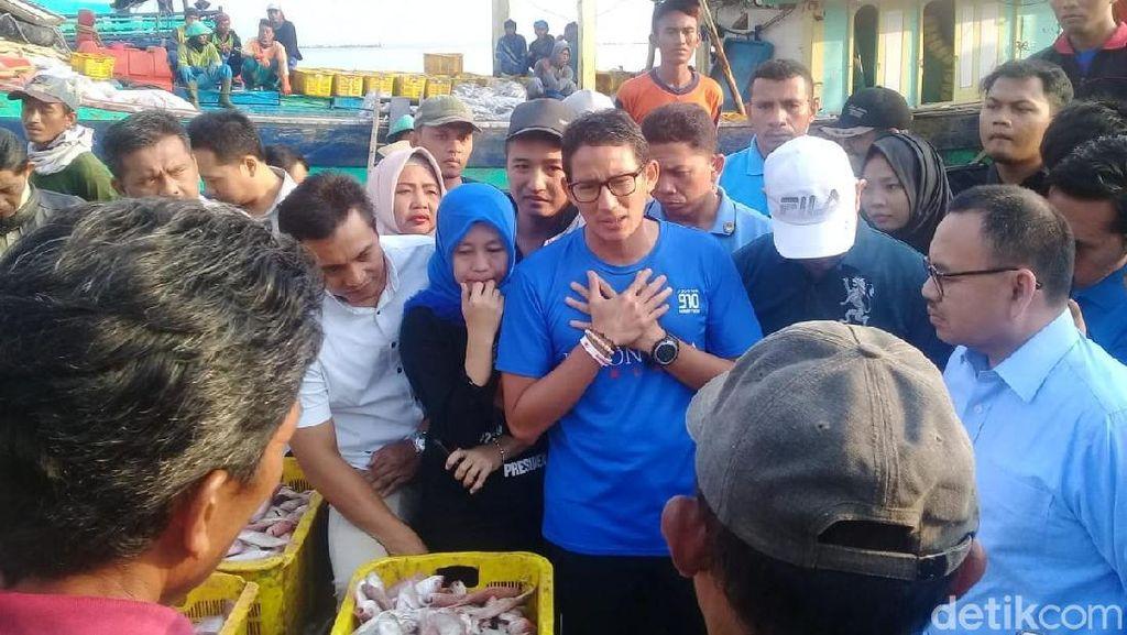 Sandiaga Bakal Permudah Izin Melaut, Nelayan: Tebar Pesona