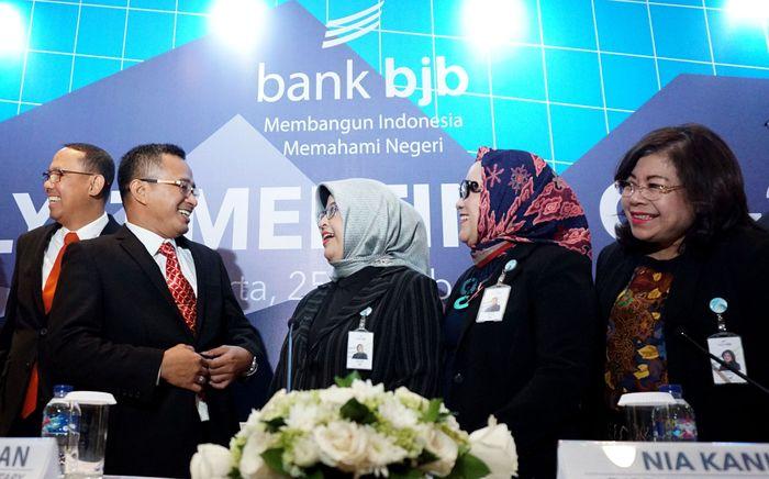 Pada triwulan III-2018 itu juga total aset Bank BJB tercatat menembus angka Rp 114,1 triliun. Semua itu diungkapkan dalam analyst meeting triwulan III-2018 di Hotel Ritz Carlton Pacific Place, Jakarta, Kamis (25/10/2018).Foto: dok. BJB