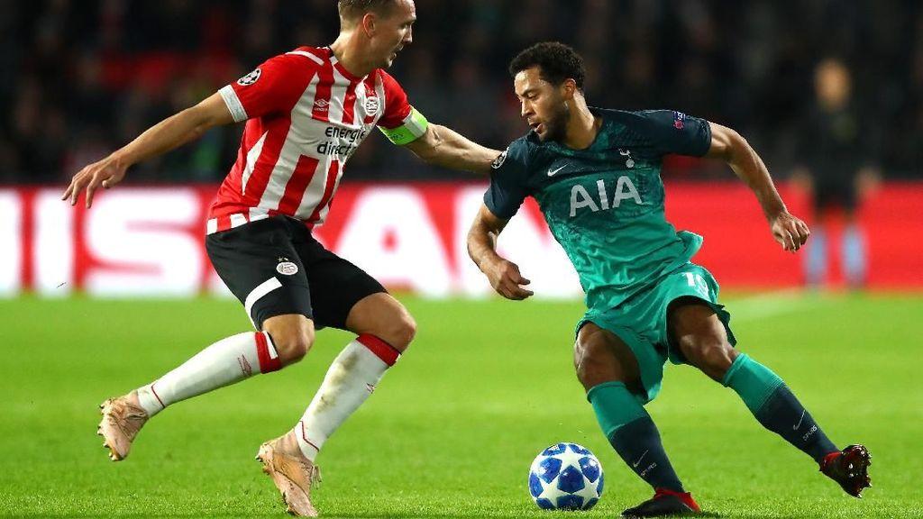Hasil PSV vs Tottenham: Diwarnai Kartu Merah, Laga Berakhir 2-2